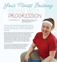 Your Fitness Journey Begins with Progression